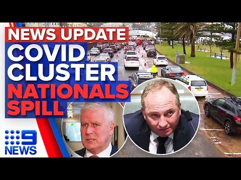Sydney cluster grows to 11, Nationals leadership spill   9 News Australia