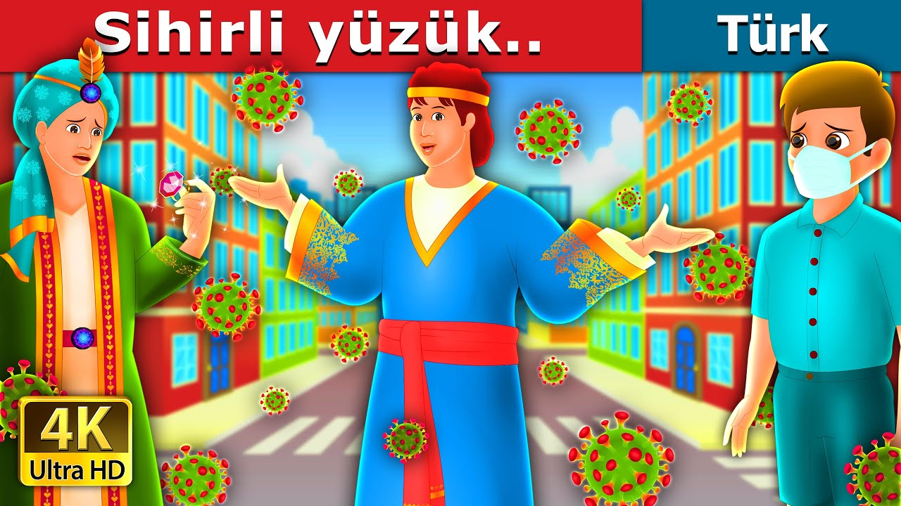SİHİRLİ YÜZÜK | The Magic Ring Story | Türkçe peri masallar