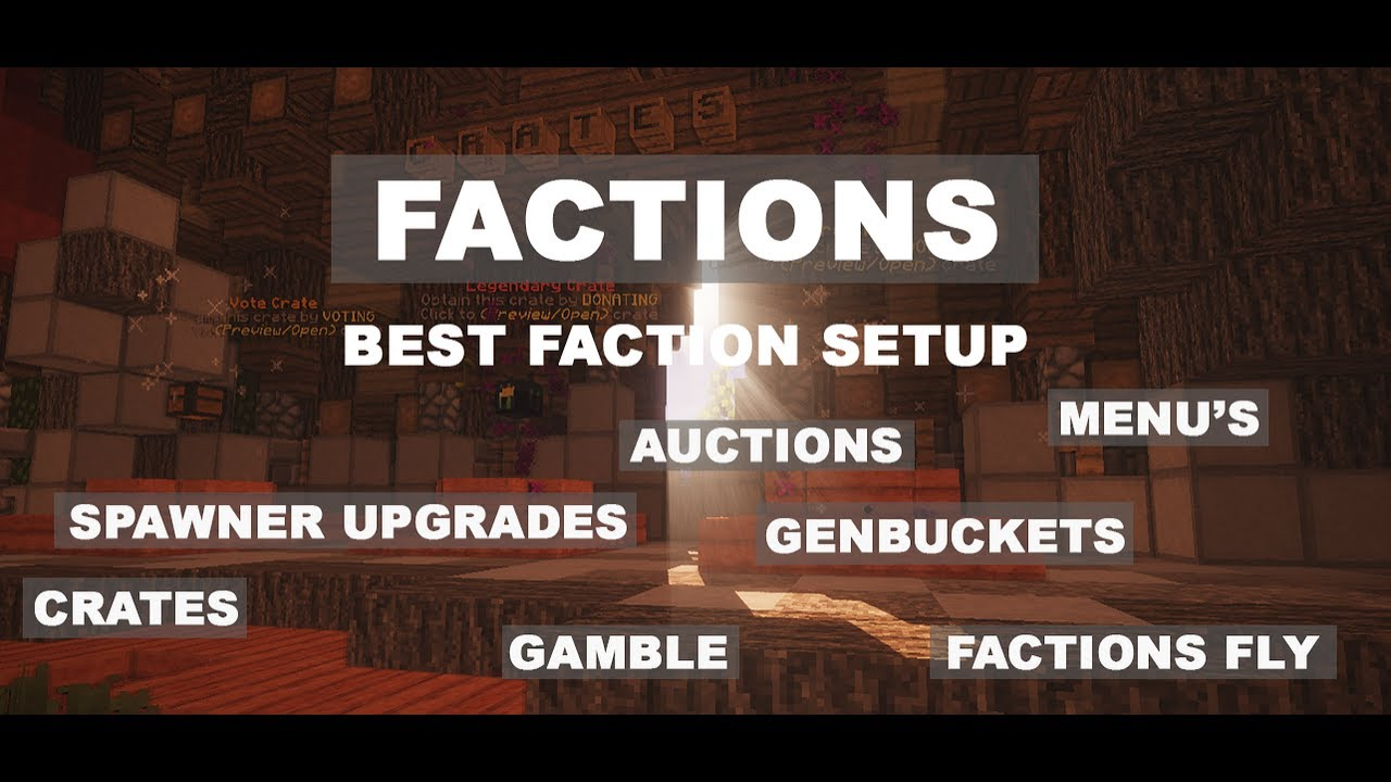 Premade Factions Server/Setup 8 0 By OGTrey (BEST ONE YET)