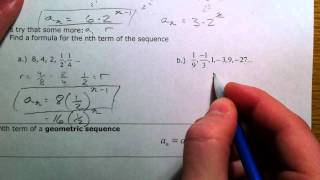 Geometric Sequences and Series (1 of 2)