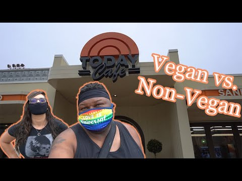 Today Cafe Breakfast | Vegan & Non-vegan Food Review | Universal Studios Orlando Florida