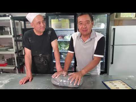 Kroran. Настоящий уйгурский лагман. Пошаговый видео рецепт.