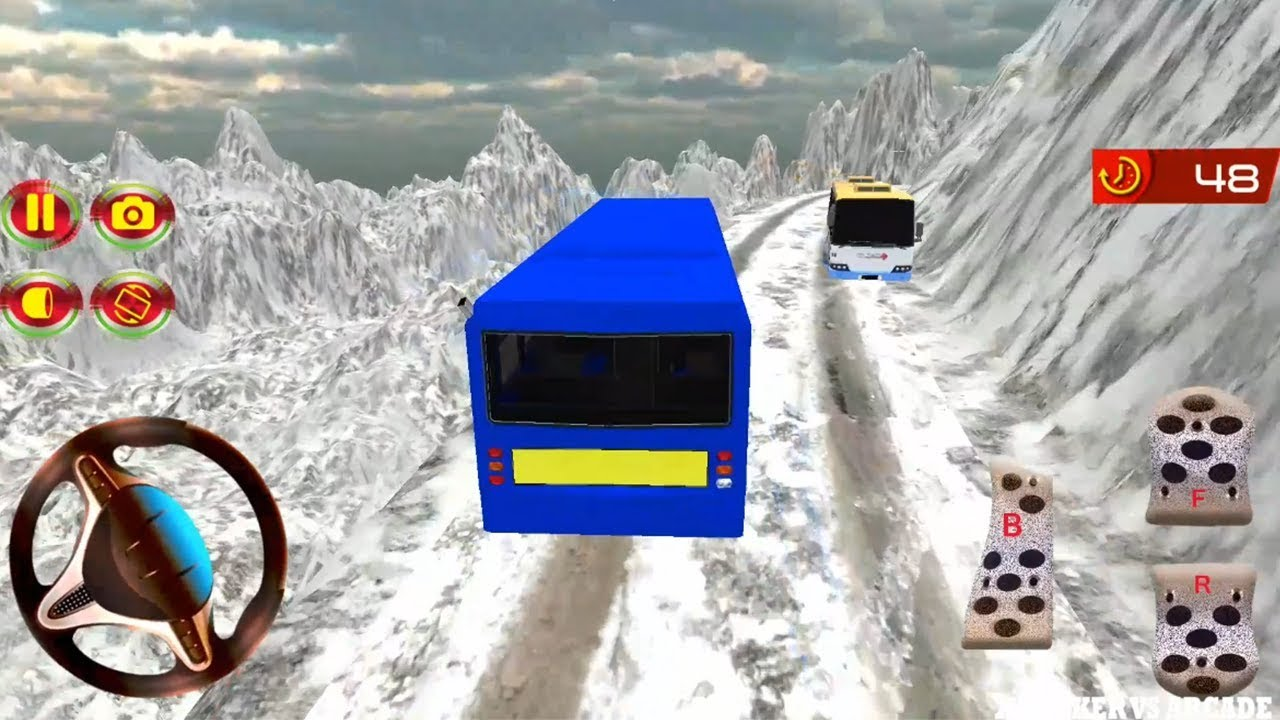 Bus Mountain Drive Simulator 3D | New Bus Unlocked Offroad Driving - Android GamePlay 2018