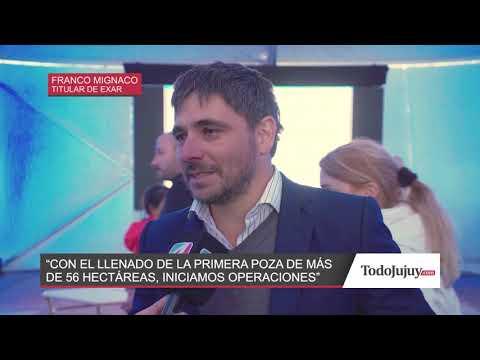 Exar comienza la producción de litio en Jujuy