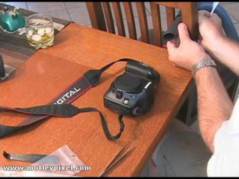 Cleaning your Digital SLR sensor