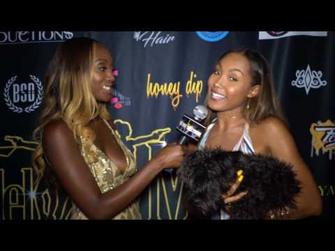 Parker McKenna Posey at the Model Mafia Runway for Water Fashionfest LA 2107