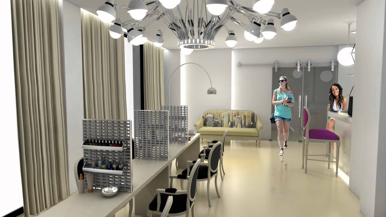 absolut nails interior design piblic space laboratorul de arhitectura 2011 youtube - Nail Salon Interior Design Ideas