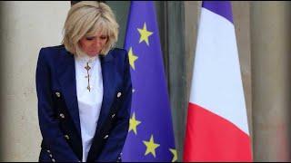 Brigitte Macron en deuil