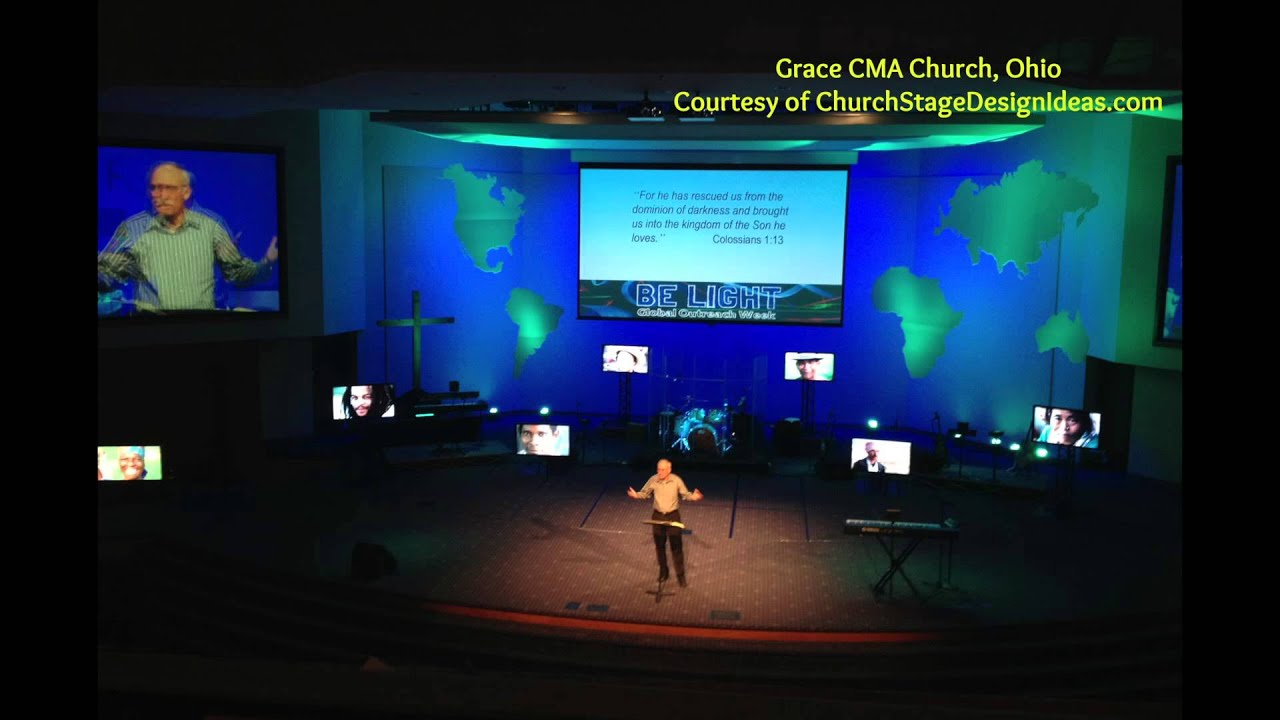 Using Large Venue Projectors In Houses Of Worship Youtube