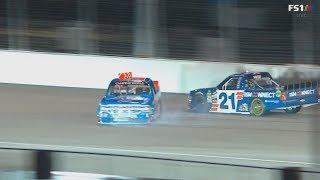 NASCAR Camping World Truck Series 2018. Gateway Motorsport Park. Stewart Friesen Crash