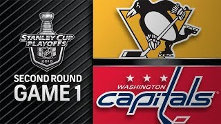 Pittsburgh Penguins vs Washington Capitals – Apr. 26, 2018 | Game 1 | Stanley Cup 2018. Обзор