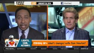 ESPN FIRST TAKE 1 26 2016   The Warriors Beat The Spurs