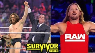 10 WWE Survivor Series 2018 Rumors & Surprises - AJ Styles Joins RAW?