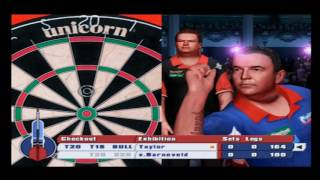 PDC World Championship Darts 2008 PS2 Gameplay