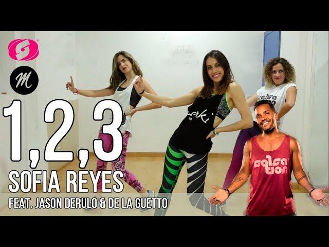Sofia Reyes 1, 2, 3 ft Jason Derulo & De La Guetto SALSATION® choreography by Marta del Puerto