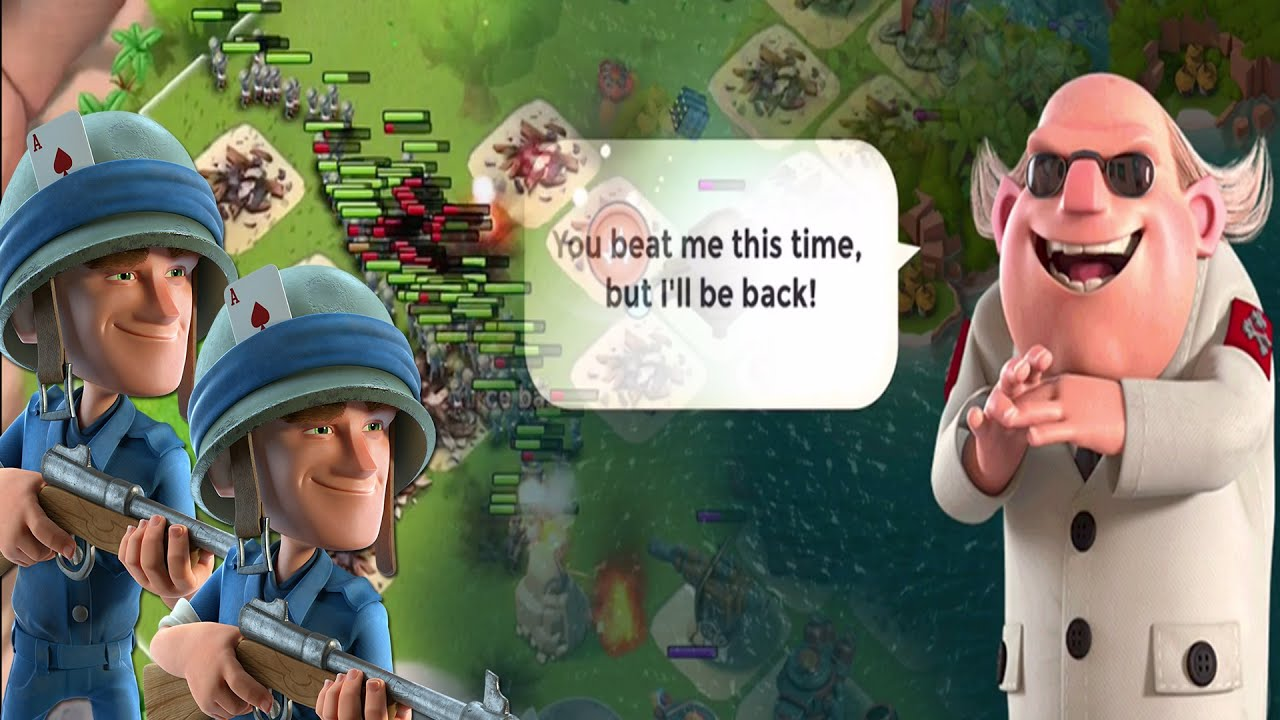 Boom Beach How To Beat Dr Terror Level
