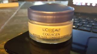 L'OREAL Collagen Day/Night Cream Review Smooth Wrinkles Cream Moisturizer
