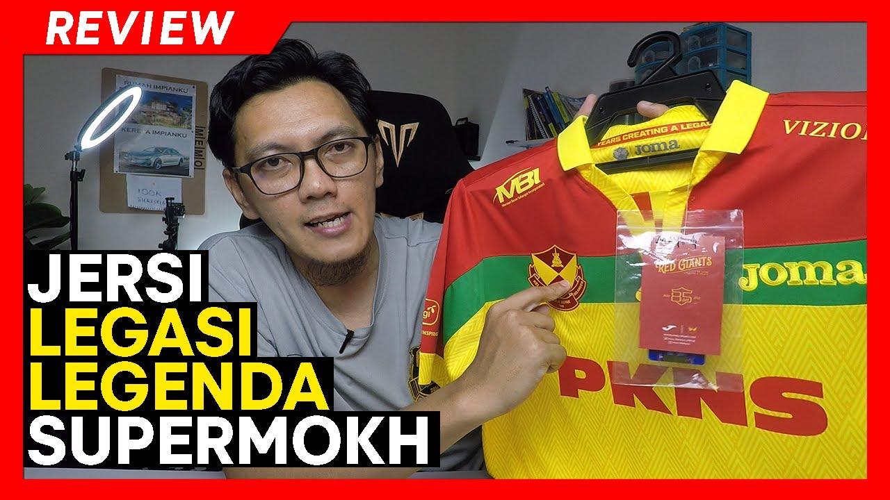 Download REVIEW JERSI   Diinspirasikan dari jersi terakhir SUPERMOKH bersama Selangor 1986