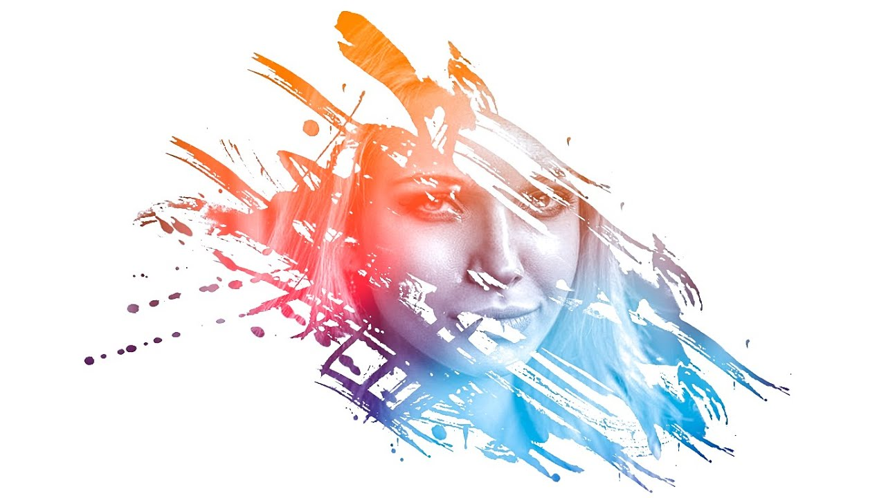 Hulk 3d Wallpaper Download Photoshop Amazing Photo Effects Paint Splash On Face