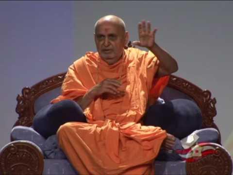 Pramukh swami maharaj's speech in NC-2007, Jacksonville, florida,  Day-1