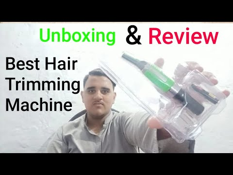 Best Hair Trimmer.|Unboxing and review |All Rounder SAAB Tech.