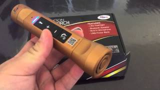NuTorch:Multi-Function Music Torch from NuVending