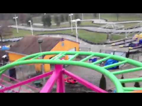The Funplex in Mount Laurel new roller coaster Test run coming this spring