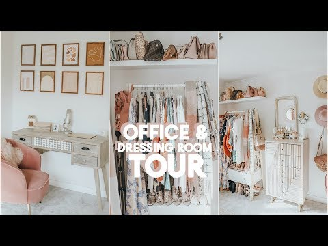 OFFICE DRESSING ROOM TOUR | KATE MURNANE