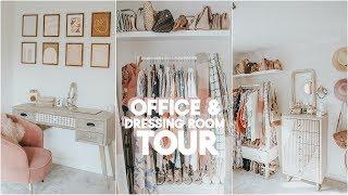 OFFICE DRESSING ROOM TOUR | KATE MURNANE