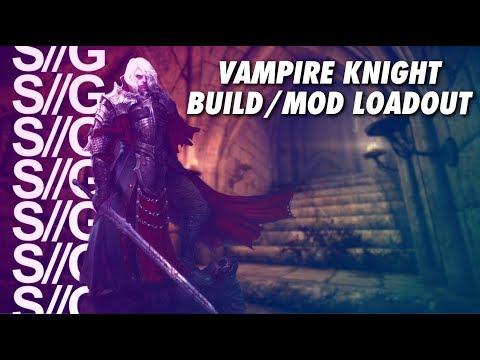Skyrim Vampire Knight Build! Mod List! PS4!