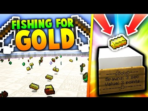 FISHING FOR MONEY! (Minecraft)