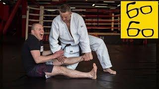 Болевые приемы на ноги — как сломать ногу противника? Самбо в партере от Шидловского и МНОГО БОЛИ 😱