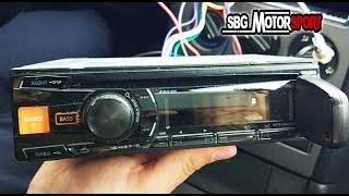 CÓMO INSTALAR UNA RADIO EN NUESTRO COCHE  || SBG MOTORSPORT