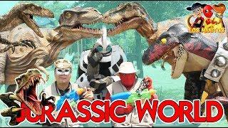 Jurassic World La Parodia / Manito y Maskarin