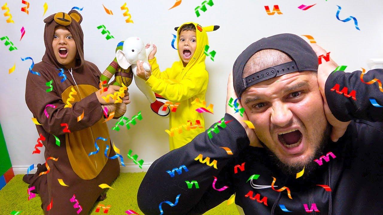 Егорка устроил Пижамную вечеринку