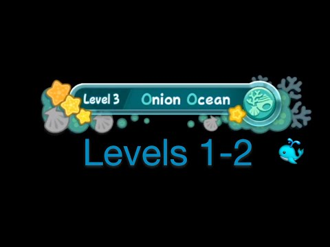 Kirby's Return to Dreamland-Onion Ocean Levels 1-2