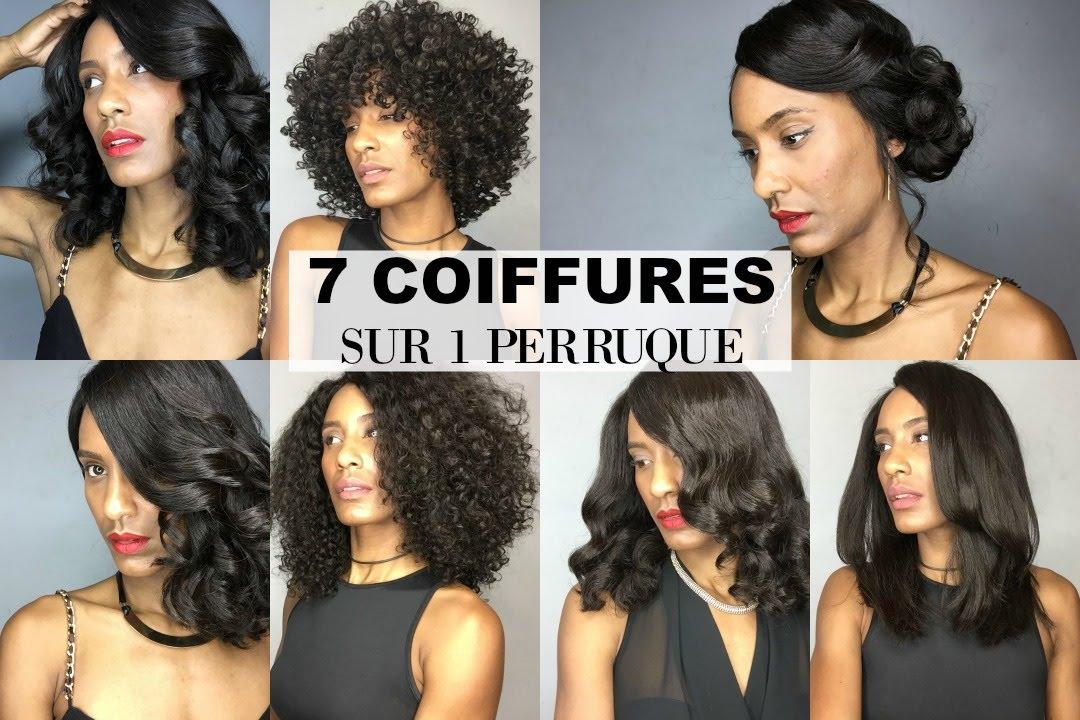7 Coiffures Sur Perruque Bouclée (Lace Front Wig)