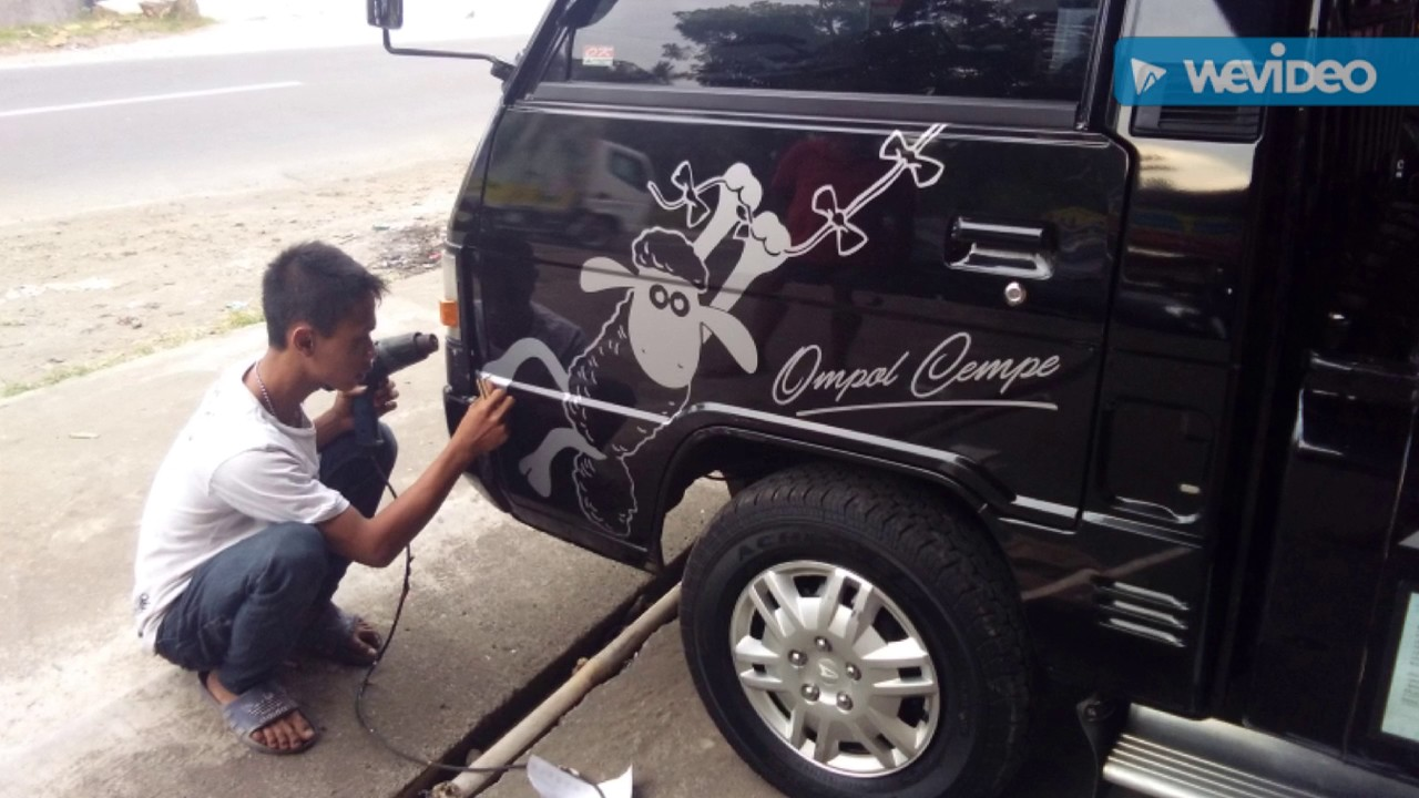 Top Cutting Sticker Mobil Pick Up L300 Terbaru Modifotto
