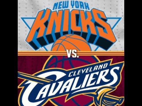 NBA 2K17 New York Knicks vs Cleveland Cavaliers Part 1