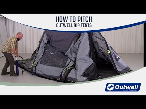 How to pitch an Outwell Air Tent (2018) | Innovative Family Camping