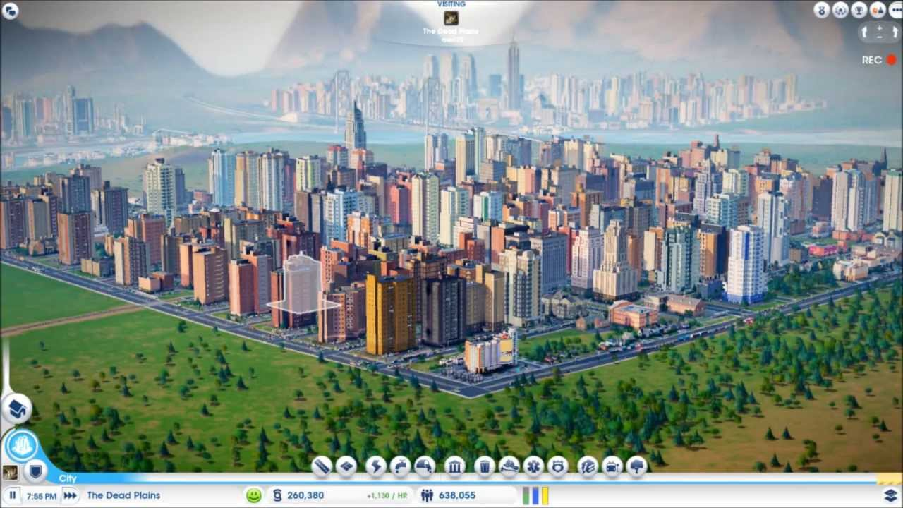 5 awesome crazy cities simcity 5 youtube for Awesome sims