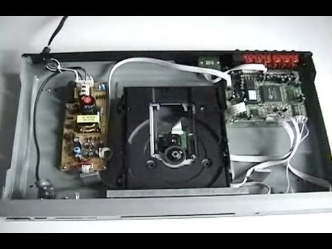How To Clean an Optical Disc Player  YouTube