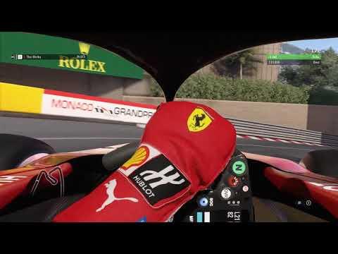 F1 2018 | Ferrari SF71H - Monaco - Onboard Lap [More realistic FOV]