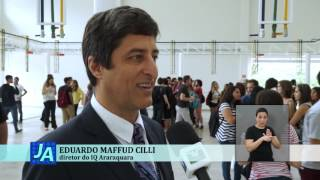 Jornal Acontece Inauguração Prédio Eng Química Unesp - LIBRAS