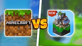 Minecraft Pocket Edition Vs Master Craft | Mcpe ПРОТИВ Master Craft