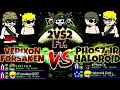 Mini Militia: 2vs2 Intense Gameplay ft. PHOS7 JR, FORSAKEN and Haloroid[Must Watch 🔥]
