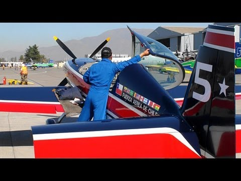 【HD】 Halcones Chilean Air Force FACh Fuerza Aerea de Chile