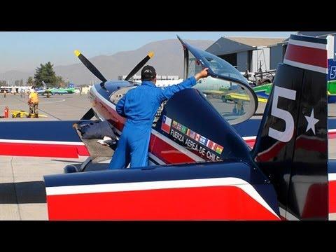 【HD】 Halcones Chilean Air Force FACh Fuerza Aerea de Chile