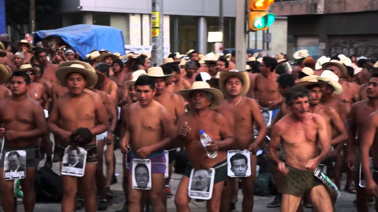 Protest in Mexico turns violent | AFP - YouTube