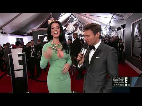 Katy Perry on the Red Carpet - Grammy Awards 2013 thumbnail